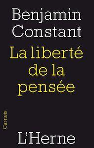 Téléchargez le livre :  La liberté de la pensée