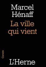 Download this eBook La ville qui vient