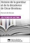 Télécharger le livre :  Histoire de la grandeur et de la décadence de César Birotteau d'Honoré de Balzac