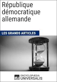 Téléchargez le livre :  République démocratique allemande