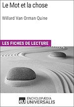 Téléchargez le livre :  Le Mot et la chose de Willard Van Orman Quine