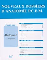 Download this eBook Nouveau dossier d 'anatomie P.C.E.M. : Abdomen
