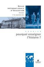 Download this eBook Pourquoi enseigner l'histoire - Ebook