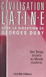 Download this eBook Civilisation latine