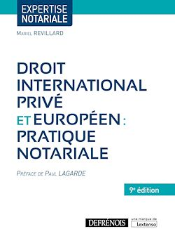 Download the eBook: Droit international privé et européen : pratique notariale - 9e édition