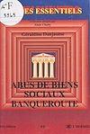 Télécharger le livre :  Abus de biens sociaux, banqueroute