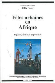 Téléchargez le livre :  Fêtes urbaines en Afrique