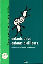 Download this eBook Enfants d'ici, enfants d'ailleurs
