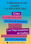 LA RENTREE 2013 DES EDITIONS DOMINIQUE LEROY : EXTRAITS GRATUITS