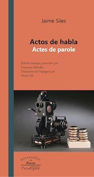 Téléchargez le livre :  Actos de habla - Actes de paroles