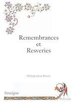 Download this eBook Remembrances et resveries : hommage à Jean Batany