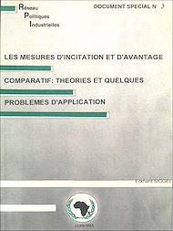 Téléchargez le livre :  Les mesures d'incitation et d'avantage comparatif: théories et quelques problèmes d'application