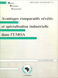 Téléchargez le livre :  Avantages comparatifs révélés et spécialisation industrielle dans l'UMOA