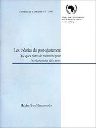 Téléchargez le livre :  Les théories du post-ajustement