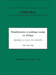Téléchargez le livre :  Mondialisation et politique sociale en Afrique
