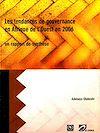 Télécharger le livre :  Les tendances de gouvernance en Afrique de l'Ouest en 2006 un rapport de synthèse