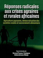 Download this eBook Réponses radicales aux crises agraires et rurales africaines