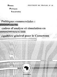 Téléchargez le livre :  Politiques commerciales