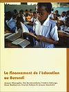 Télécharger le livre :  Le financement de l'éducation au Burundi