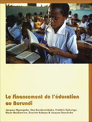 Téléchargez le livre :  Le financement de l'éducation au Burundi