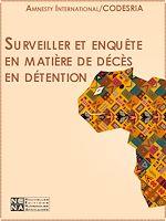 Téléchargez le livre :  Surveiller et enquêter en matière de décès en détention