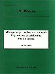 Téléchargez le livre :  Ménages et perspectives de relance de l'agriculture en Afrique au sud du Sahara