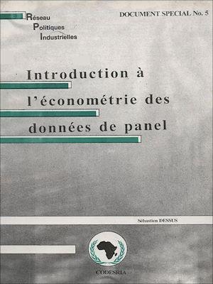 Téléchargez le livre :  Introduction à l'économétrie des données de panel