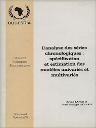 Téléchargez le livre :  L'analyse des séries chronologiques: Spécialisation et estimation de modèles univariés et multivariés