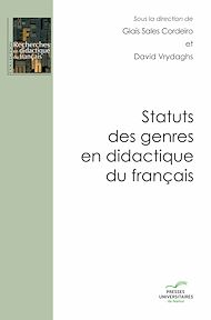 Téléchargez le livre :  Statuts des genres en didactique du français