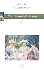Download this eBook Plaisir des météores