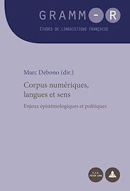 Téléchargez le livre :  Corpus numériques, langues et sens