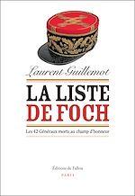Download this eBook La Liste de Foch