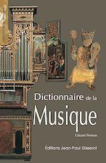Téléchargez le livre :  Dictionnaire de la musique