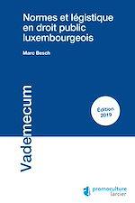 Download this eBook Normes et légistique en droit public luxembourgeois