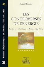 Téléchargez le livre :  Les controverses de l'énergie