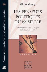 Téléchargez le livre :  Les penseurs politiques du 19e siècle