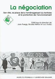 Téléchargez le livre :  La négociation, sa place et son rôle dans l'amènagement du territoire