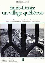 Download this eBook Saint-Denis: Un village Québécois
