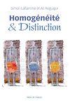 Télécharger le livre :  Homogénéité et distinction