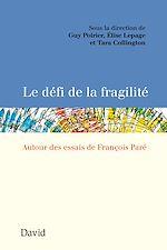 Download this eBook Le défi de la fragilité