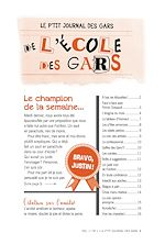 Download this eBook Le p'tit journal des gars de l'école des gars, Vol. 1, No 1