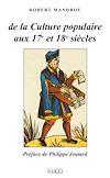 Télécharger le livre :  De la culture populaire au 17e et 18e siècles