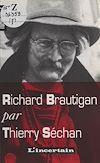 Télécharger le livre :  Tombeau de Richard Brautigan