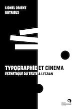 Download this eBook Typographie et cinéma