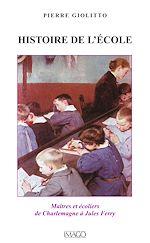Téléchargez le livre :  Histoire de l'école
