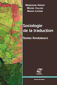 Téléchargez le livre :  Sociologie de la traduction