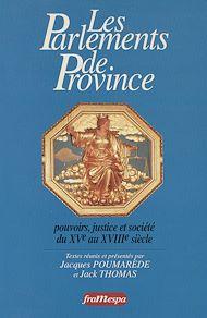 Téléchargez le livre :  Les Parlements de province