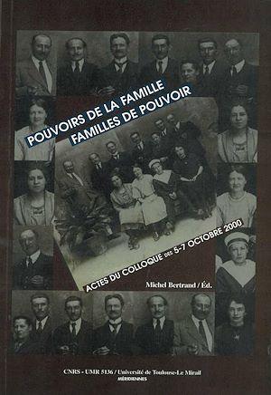 Téléchargez le livre :  Pouvoirs des familles, familles de pouvoir