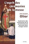 Télécharger le livre :  L'Esprit des Cérémonies de la Messe