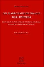 Téléchargez le livre :  Les Maréchaux de France des Lumières